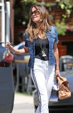 BROOKE BURKE Out and About in Santa Monica 04/12/2018