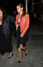 BROOKE BURKE Out for Dinner at Avra Beverly Hills 04/28/2018