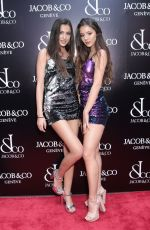 BROOKE KORINE and NORA GJILI at Jacob & Co. Flagship Store Re-opening in New York 04/26/2018