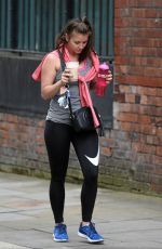 BROOKE VINCENT Leaves a Gym in Manchester 04/26/2018