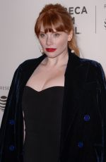 BRYCE DALLAS HOWARD at Genius Picasso Premiere at Tribeca Film Festival in New York 04/20/2018