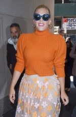 BUSY PHILIPPS Arrives at Today Show in New York 04/11/2018