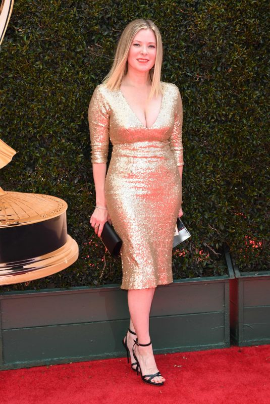 CADY MCCLAIN at Daytime Emmy Awards 2018 in Los Angeles 04/29/2018