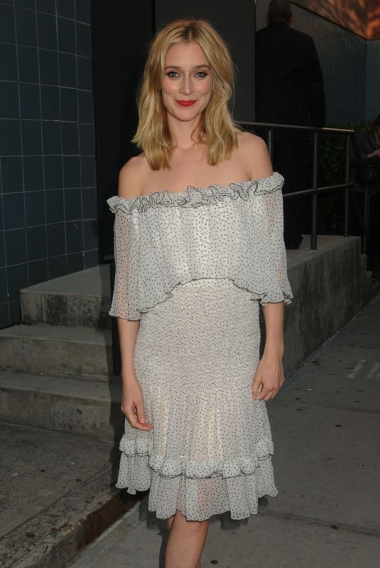 CAITLIN FITZGERALD at SVA Theatre in New York 04/26/2018