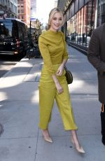 CAITLIN FITZGERALD Leaves Build Series in New York 04/23/2018