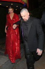 CAMERON DIAZ and Benji Madden at Gwyneth Paltrow and Brad Falchuk's Engagement Party in Los Angeles 04/14/2018