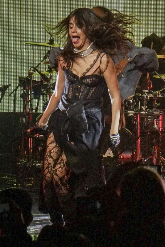 CAMILA CABELLO Performs at Her Never Be the Same Debut Tour in Canada 04/09/2018