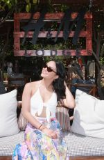 CAMILA MENDES at Polside with H&M at Sparrows Lodge in Palm Springs 04/14/2018