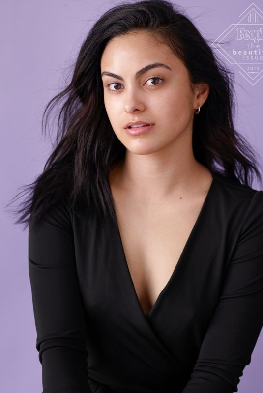CAMILA MENDES Makeup Free for People Magazine, 2018