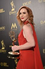 CAMRYN GRIMES at Daytime Emmy Awards 2018 in Los Angeles 04/29/2018