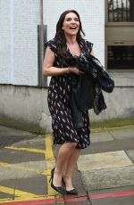CANDICE BROWN Leaves ITV Studios in London 04/04/2018