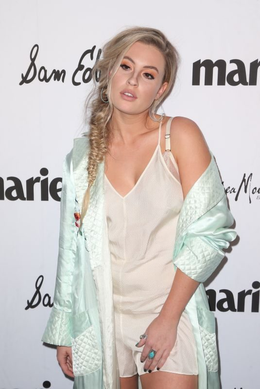 CARLSON YOUNG at Marie Claire Fresh Faces Party in Los Angeles 04/27/2018