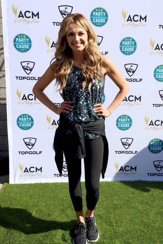 CARLY PEARCE at Academy of Country Music Presents Lifting Lives Topgolf Tee-off in Las Vegas 04/14/2018