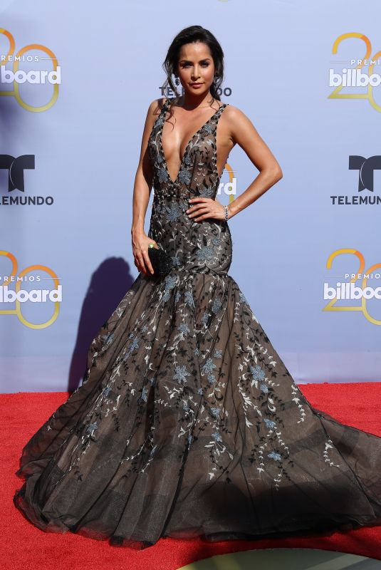 CARMEN VILLALOBOS at Billboard Latin Music Awards in Las Vegas 04/26/2018