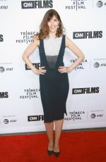 CAROL ALT at Love, Gilda Premiere at Tribeca Film Festival in New York 04/18/2018
