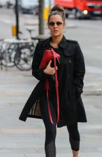 CAROLINE FLACK Heading to a Gym in London 04/03/2018