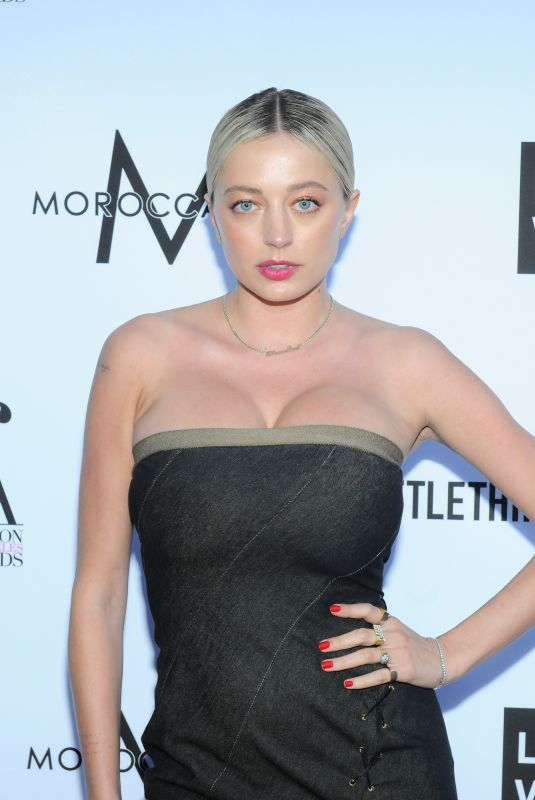 CAROLINE VREELAND at Daily Front Row Fashion Awards in Los Angeles 04/08/2018