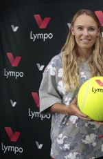CAROLINE WOZNIACKI Named Lympo App Ambassador in Monaco 04/18/2018