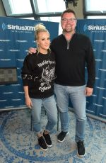 CARRIE UNDERWOOD at SiriusXM Studios at Bridgestone Arena in Nashville 04/19/2018