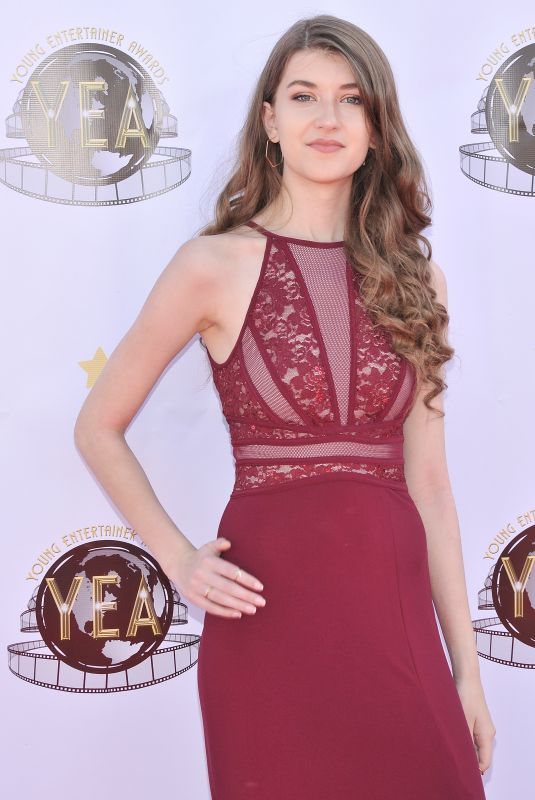 CASEY BURKE at 3rd Annual Young Enterainer Awards in Universal City 04/15/2018