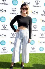 CASSADEE POPE at Academy of Country Music Presents Lifting Lives Topgolf Tee-off in Las Vegas 04/14/2018