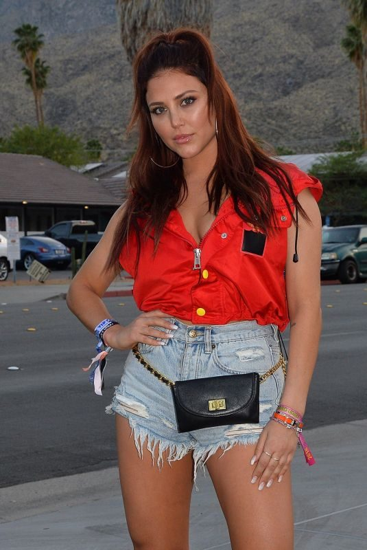 CASSIE SCERBO at Playboy Social Club Coachella Party in Palm Springs 04/13/2018