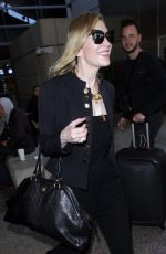 CATE BLANCHETT at LAX Airport in Los Angeles 04/22/2018