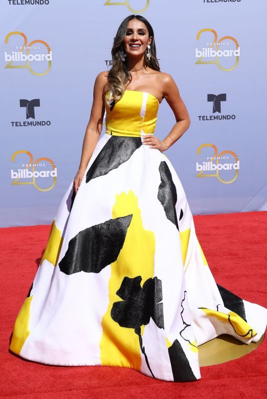 CATHERINE SIACHOQUE at Billboard Latin Music Awards in Las Vegas 04/26/2018