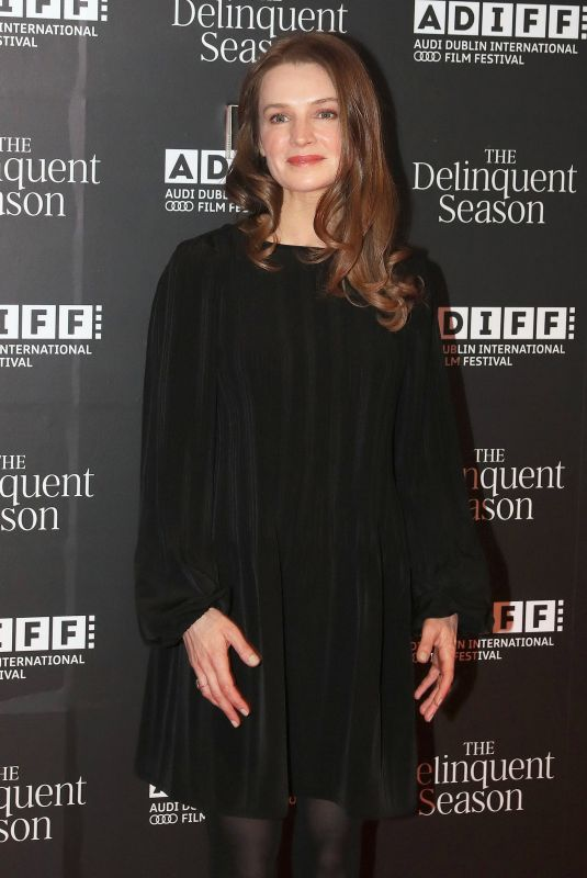CATHERINE WALKER at Delinquent Season Premiere in Dublin 04/25/2018