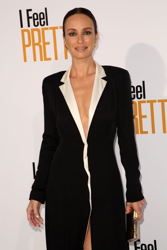 CATT SADLER at I Feel Pretty Premiere in Los Angeles 04/17/2018