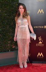 CELESTE FIANNA at Daytime Creative Arts Emmy Awards in Los Angeles 04/27/2018