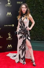 CELESTE FIANNA at Daytime Emmy Awards 2018 in Los Angeles 04/29/2018