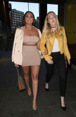 CHANELLE MCCLEARY Night Out in Manchester 04/25/2018