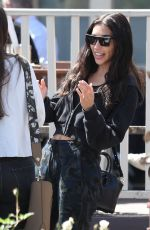 CHANTEL JEFFRIES at Le Pain Quotidien in West Hollywood 04/04/2018