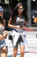 CHANTEL JEFFRIES Out for Lunch at Urth Caffe in West Hollywood 04/23/2018