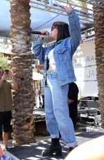 CHARLI XCX Performs at Lucky Brand Desert Jam in Palm Springs 04/14/2018