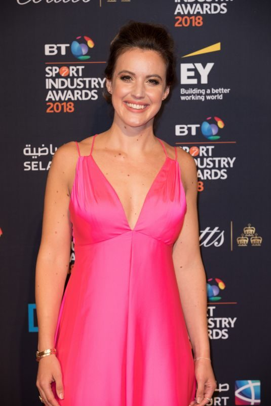 CHARLIE WEBSTER at BT Sport Industry Awards in London 04/26/2018
