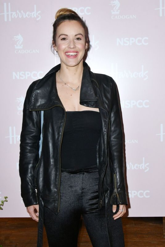 CHARLIE WEBSTER at Fashion Re-told Pop-up Launch Party in London 04/12/2018