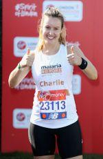 CHARLIE WEBSTER at London Marathon 04/22/2018