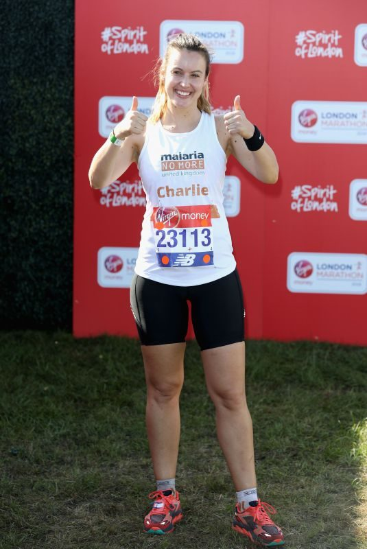 CHARLIE WEBSTER at London Marathon 04/22/2018