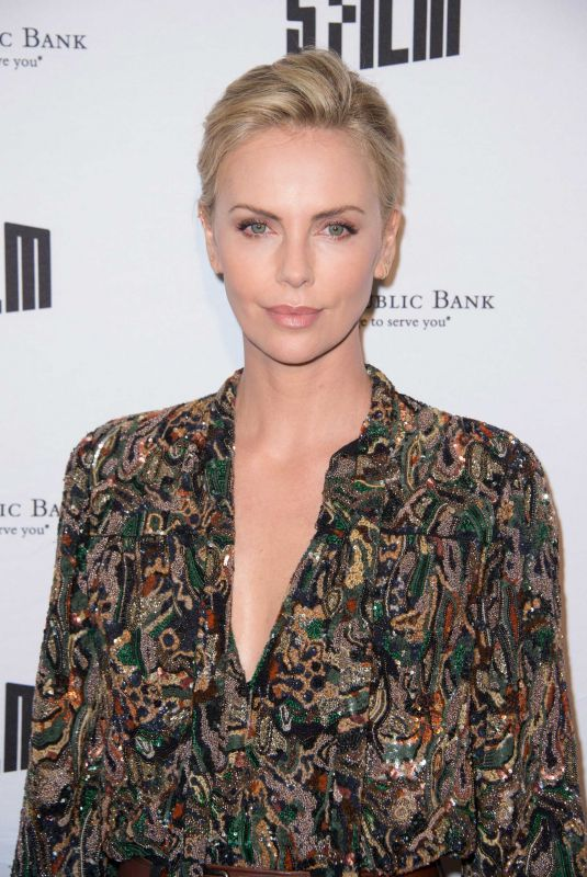CHARLIZE THERON at San Francisco Film Festival 2018 A Tribute to Charlize Theron 04/08/2018