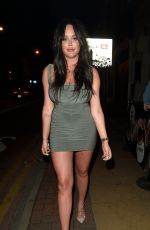 CHARLOTTE CROSBY Night Out in Manchester 04/21/2018