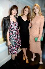 CHARLOTTE WIGGINS and EVE DELF at House of Osman VIP Launch in London 04/25/2018