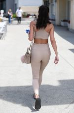 CHATEL JEFFRIES at Pilates Class in West Hollywood 04/18/2018