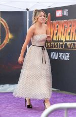 CHLOE BENNET Arrives at Avengers: Infinity War Premiere in Los Angeles 04/23/2018