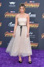 CHLOE BENNET at Avengers: Infinity War Premiere in Los Angeles 04/23/2018