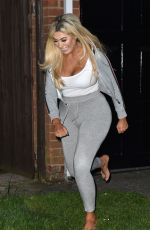 CHLOE FERRY and Sam Gowland at Sam