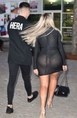 CHLOE FERRY Night Out in London 04/21/2018