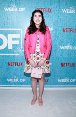 CHLOE HIMMELMAN at The Week Of Premiere at Tribeca Film Festival in New York 04/23/2018