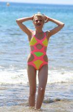 CHLOE JASMINE in Swimsuit at a Beach in Cape Verde 04/20/2018